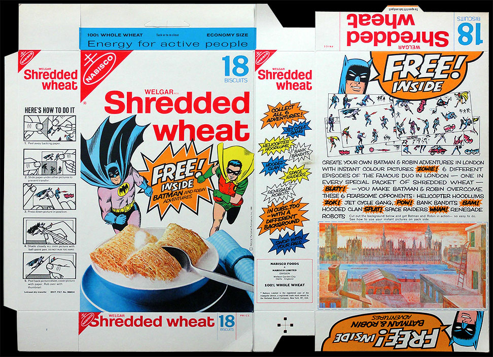 The Particularly Good News Is That This Shredded Wheat Promotion Has Been Converted Into One Of Our Online Games Renegade Robots